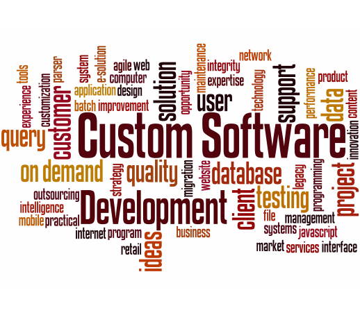 We offer custom solutions