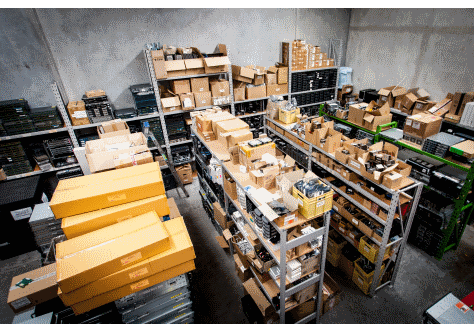 Our stocked warehouse